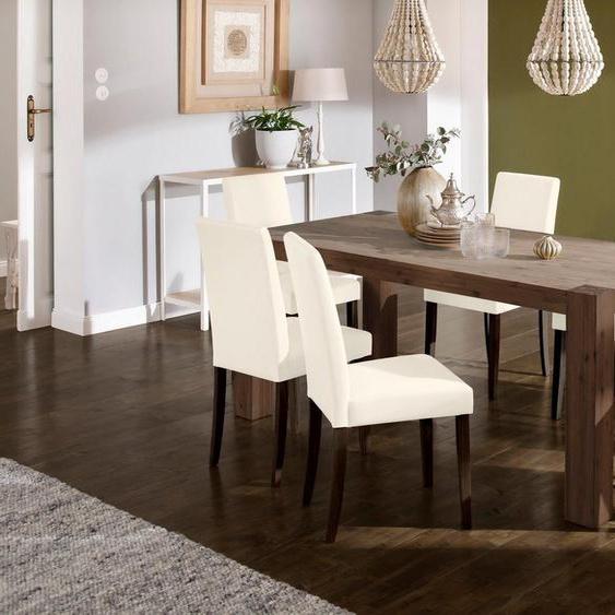 Home affaire Essgruppe »Livara«, (Set, 7-tlg), bestehend aus 6 Lucca Stühlen und dem Mary Esstisch