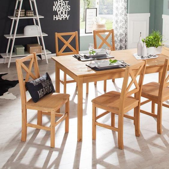 Home affaire Essgruppe »Marta«, (Set, 7-St), mit großem Tisch
