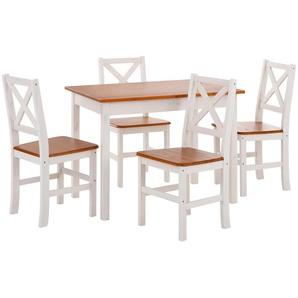 Home affaire Essgruppe, (Set, 5-tlg), mit kleinem oder großem Tisch