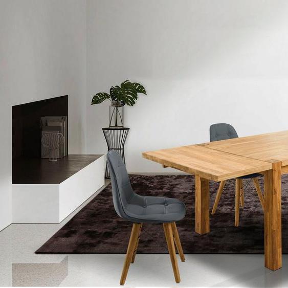 Home affaire Essgruppe »Tim«, (Set, 5-St), bestehend aus 4 Stühlen und einem Esstisch, Esstischgröße 140 cm
