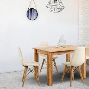 Home affaire Esstisch »Ben«, aus massivem Eichenholz, in 4 unterschiedlichem Tischgrößen erhältlich
