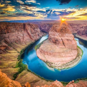 Home affaire Fototapete »Horseshoe Bend«, 350/260 cm