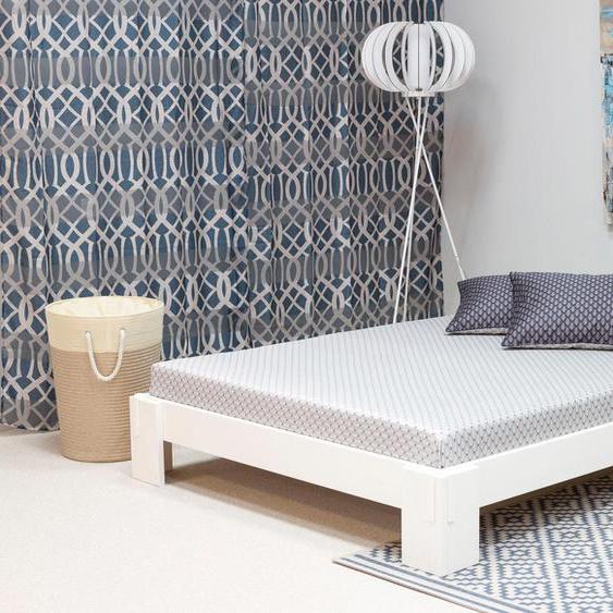 Home affaire Futonbett Zen 180x200 cm weiß Doppelbetten Betten