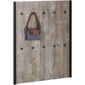 Garderobenpaneel Chris 0, 75x2,5x100 cm grau Garderobenpaneele Garderoben