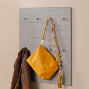 Home affaire Garderobenpaneel Ella 0, 65x3x80 cm grau Garderobenpaneele Garderoben