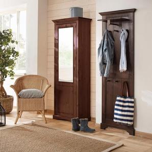 Home affaire Garderobenpaneel »Rustic« aus massiver Kiefer, 64 cm breit