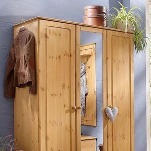 Home affaire Garderobenschrank »Emden«, mit Spiegel