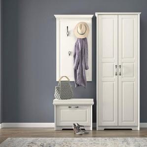 Home affaire Garderobenschrank »Evergreen« hochwertig UV lackiert, mit Soft-Close-Funktion und ausziehbarer Kleiderstange