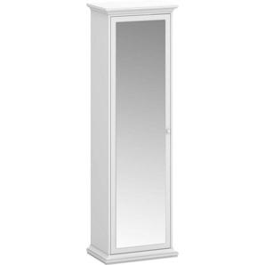 Home affaire Garderobenschrank »Paris« mit vielen Stauraummöglichkeiten und einer Spiegelfront, Höhe 200,7 cm