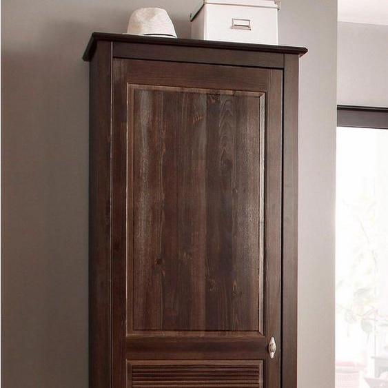 Home affaire Garderobenschrank »Rauna« 1-türig, Breite 77 cm, aus massiver Kiefer