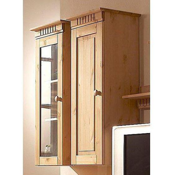 Home affaire Hängeschrank »Cubrix« aus schönem massivem Kiefernholz, Breite 35 cm, Höhe 85 cm