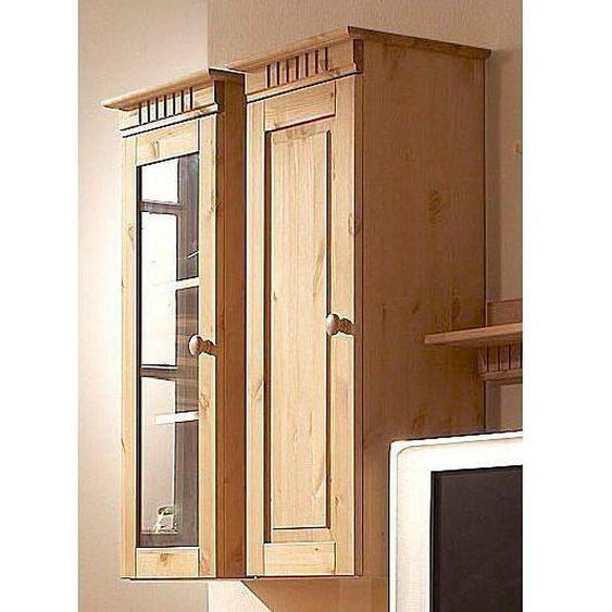 Home affaire Hängeschrank »Cubrix«, FSC®-zertifiziert, beige, Material Kiefernholz