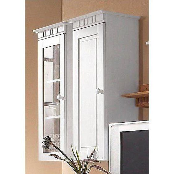 Home affaire Hängeschrank »Cubrix«, FSC®-zertifiziert, weiß, Material Kiefernholz