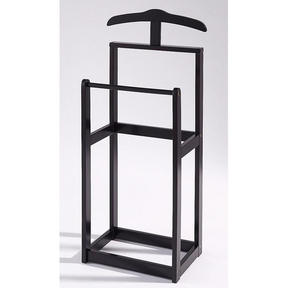 Herren-Diener »Trend«, 45x107x30 cm (BxHxT), Home affaire, schwarz, Material Massivholz,  lackiert