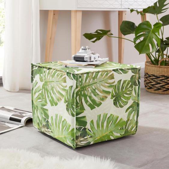 Home affaire Hocker »Cocoon Jungle«, grün