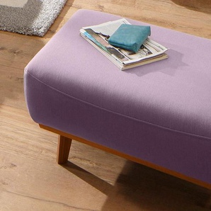 Home affaire Hocker »Gabrielle«, mit Holzrahmen, im eleganten skandinavischen Design