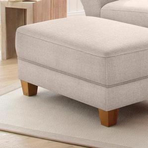 Home affaire Hocker »Gotland«, beige, FSC-Zertifikat, , , FSC®-zertifiziert