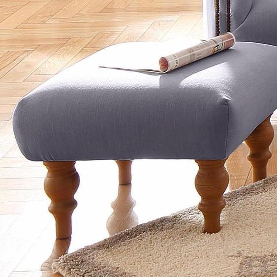 Home affaire Hocker Lord Struktur fein rot Polsterhocker Nachhaltige Möbel
