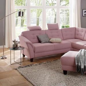 Home affaire Hocker , rosa, FSC-Zertifikat, »Lillesand«, , , FSC®-zertifiziert