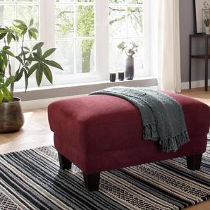 Home affaire Hocker , rot, FSC-Zertifikat, »Lillesand«, , , FSC®-zertifiziert
