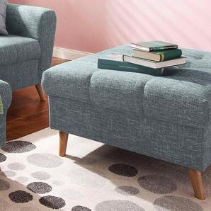 Home affaire Hocker »Penelope« mit feiner Steppung im Sitzbereich, skandinavisches Design