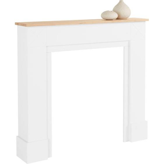 Home affaire  Kaminumbauschrank  Kaminumbau, Landhaus-Stil, FSC®-zertifiziert, weiß »Skive«