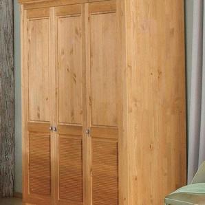 Home affaire Kleiderschrank »Rauna« aus massiver Kiefer, 214cm hoch