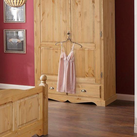 Home affaire Kleiderschrank Teo, in vier verschiedenen Breiten und zwei unterschiedlichen Farben 2-türig beige Drehtürenschränke Kleiderschränke Schränke