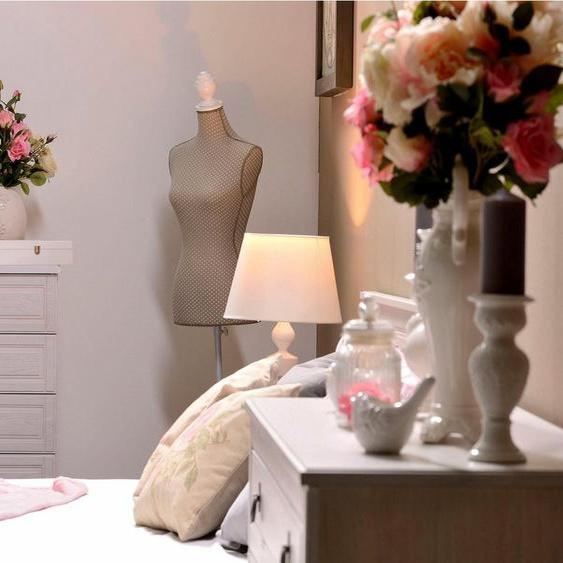 Home affaire Kommode »Blanca«, 55 cm breit, mit 5 Schubladen, verarbeitet mit Echtholzfurnier