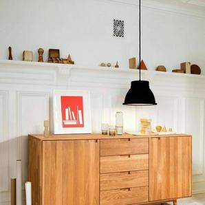Home Affaire Kommode »Scandi« aus massivem Eichenholz, mit sehr viel Stauraum, Breite 160 cm