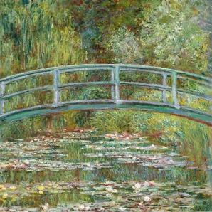 Kunstdruck »MONET / Die japanische Brücke«