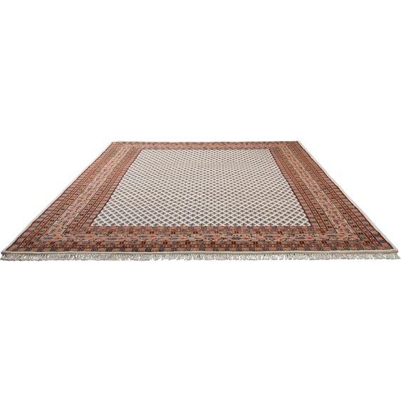 Home affaire Läufer Levin, rechteckig, 12 mm Höhe, Teppichläufer, handgeknüpft, mit Fransen B/L: 80 cm x 250 cm, 1 St. beige Teppichläufer Bettumrandungen Teppiche