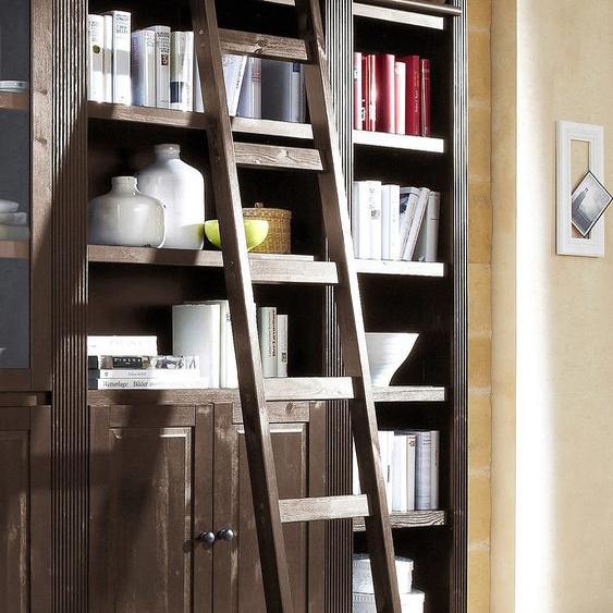 Leiter-Regal »Bergen«, FSC®-zertifiziert, Home affaire, braun, Material Kiefernholz