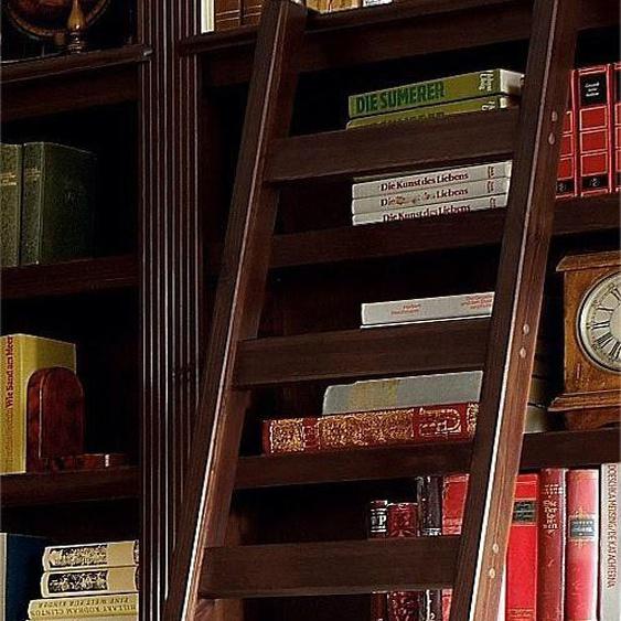 Leiter-Regal »Soeren«, FSC®-zertifiziert, Home affaire, braun, Material Kiefernholz