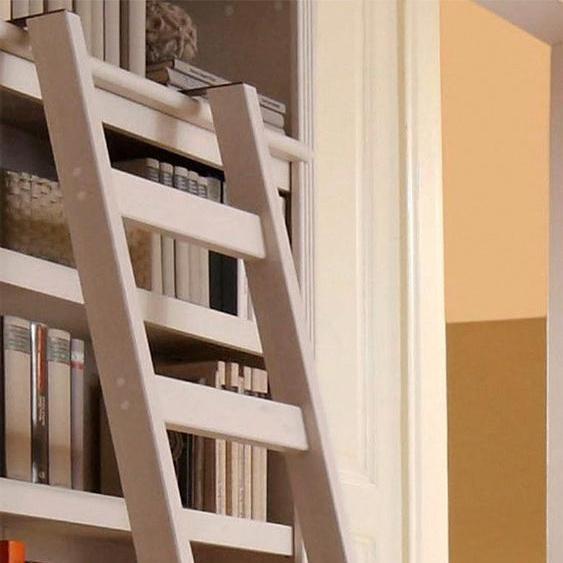 Leiter-Regal »Soeren«, FSC®-zertifiziert, Home affaire, weiß, Material Kiefernholz