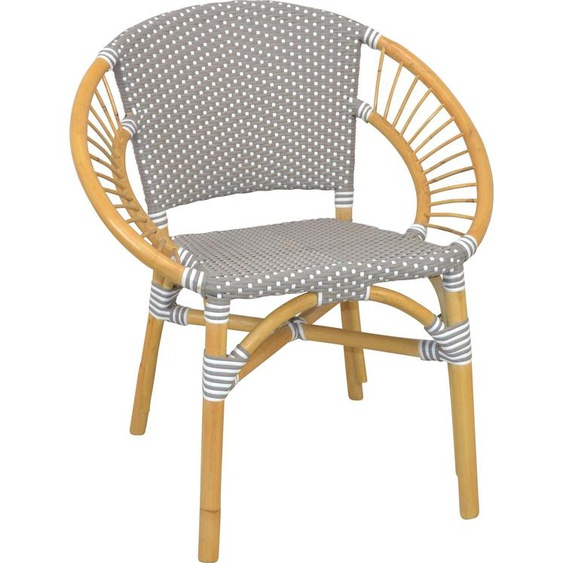 Lounge-Sessel, 70x78x58 cm (BxHxT), Home affaire, Material Rattan,  lackiert