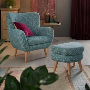 Home affaire Loungesessel Hartland 0, Polyester grün Sessel