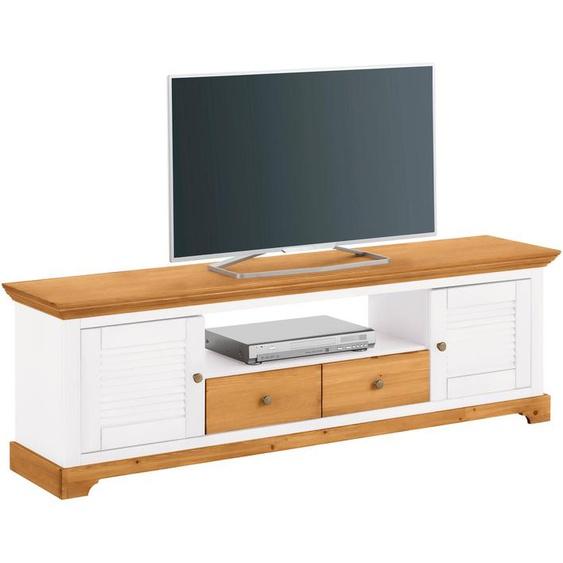 Home affaire Lowboard Ayanna, Breite 171 cm. B/H/T: cm x 53 39 cm, Anzahl Schubladen: 2 weiß TV-Regale HiFi-Regale Regale Kleinmöbel