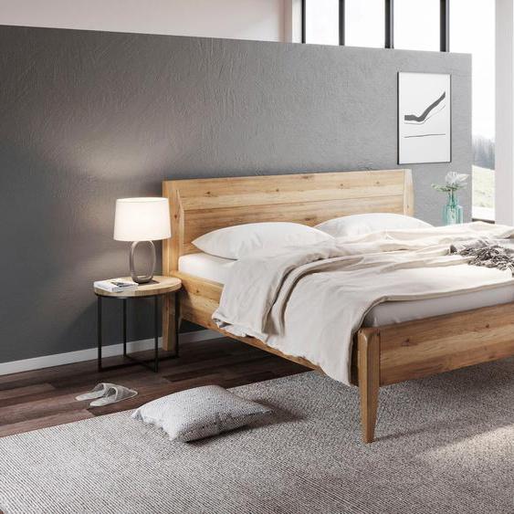 Home affaire Massivholzbett »Laura«, metallfrei, mit handwerklichen Details, die Ihren Wohnstil ausdrücken.
