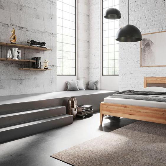 Home affaire Massivholzbett »Lotta«, metallfrei, mit handwerklichen Details, die Ihren Wohnstil ausdrücken.