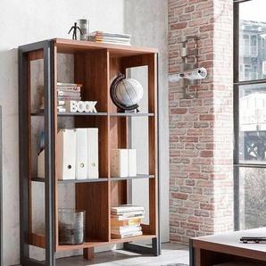 Home affaire Mehrzweckregal »Detroit«, Höhe 140 cm, im angesagten Industrial-Look