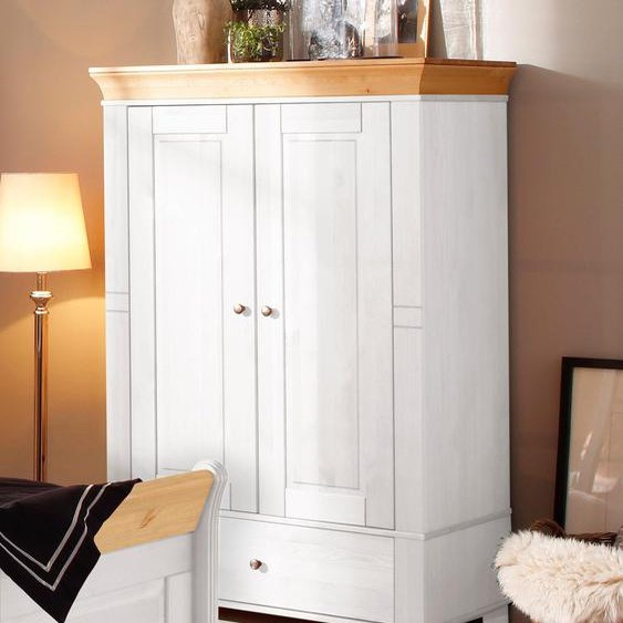 Mehrzweckschrank »Lotta«, Landhaus-Stil, FSC®-zertifiziert, Home affaire, weiß, Material Holz