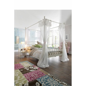 Home affaire Metallbett »Birgit«, weiß, 180x200cm Höhe Bettseite: 38cm