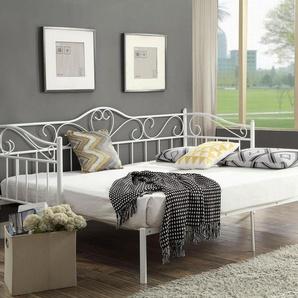 Home Affaire Metall-Bett »Sina«, weiß
