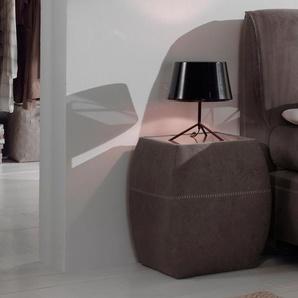Home affaire Nachttisch B/H/T: 45 cm x 57 51 cm, ohne Auszug braun Nachtkonsolen und Nachtkommoden Nachttische Tische