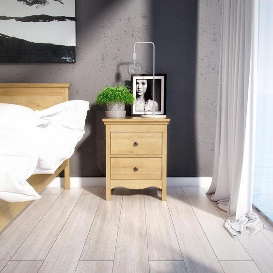 Home affaire Nachttisch Silkeborg Tischplatte: MDF, Gestell: MDF beige Nachtkonsolen und Nachtkommoden Nachttische Tische Tisch