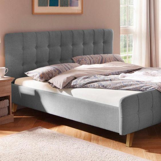 Home affaire Polsterbett »Larvik«, mit aufwendiger Knopfheftung in 3 Größen und je 3 Farben