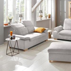 Home affaire 2,5-Sitzer + 2-Sitzer »Bergamo« Garnitur mit Armlehn-und Rückenfunktion, Federkern