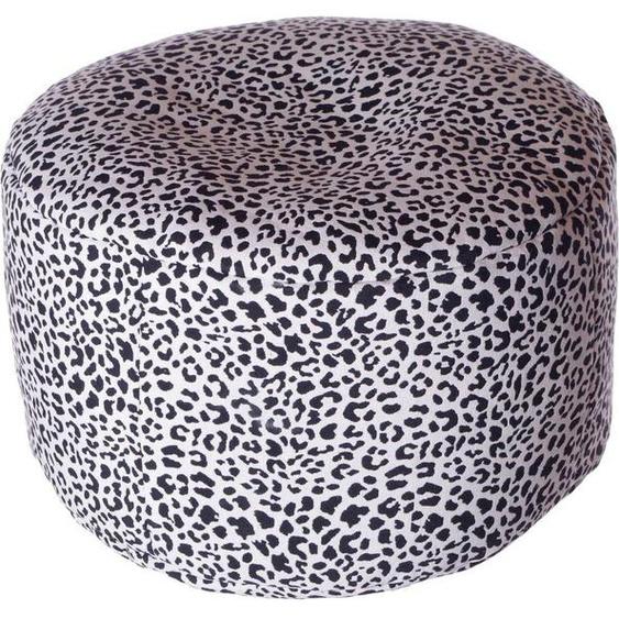 Home affaire Pouf »Gepard«, 47/34 cm