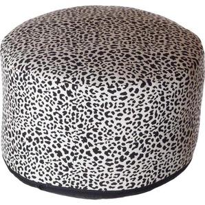 Home affaire Pouf »Gepard«, 50/34 cm